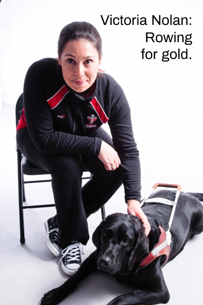 Victoria Nolan – Rowing for Gold, Olympic Dreams, and Retinitis Pigmentosa.